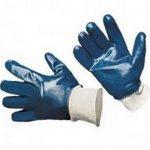 Перчатки маслобензостойкие с полным нитриловым покрытием (манжета)
